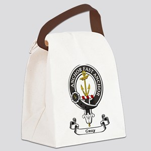Badge-Gray [Perth] Canvas Lunch Bag